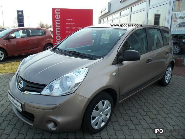 2011 Nissan  Note 1.4 Comfort Package visia Other Employee's Car photo