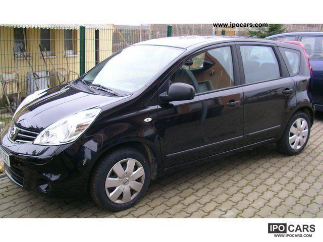 2010 nissan note 1 4 visia car photo and specs. Black Bedroom Furniture Sets. Home Design Ideas