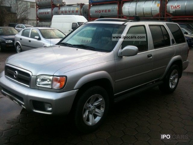 2003 Nissan Pathfinder 3.5 V6 Automatic Off Road Vehicle/Pickup Truck