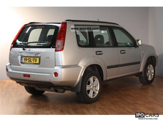 2006 nissan x trail 2wd 2 0 comfort car photo and specs. Black Bedroom Furniture Sets. Home Design Ideas