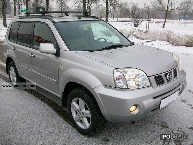 2004 nissan x trail 4x4 car photo and specs. Black Bedroom Furniture Sets. Home Design Ideas
