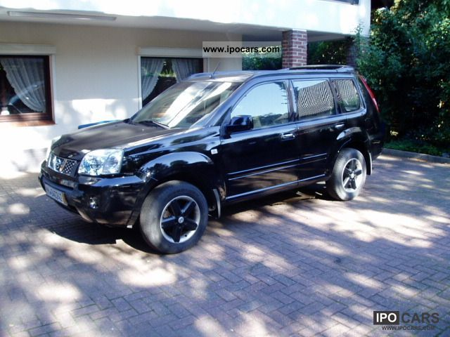 2004 nissan x trail 2 5 4x4 aut elegance car photo and. Black Bedroom Furniture Sets. Home Design Ideas