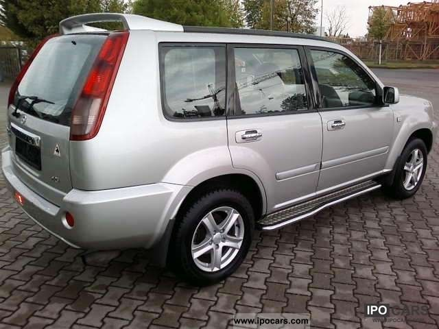 2004 Nissan X-Trail 2,2 D T30 - Car Photo and Specs