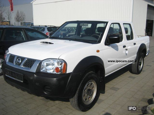 2007 nissan navara pick up 2 5 tdi 4x4 double 5 seats car photo and specs. Black Bedroom Furniture Sets. Home Design Ideas