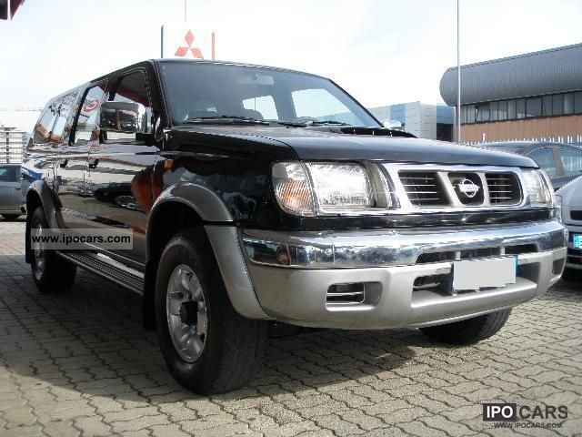 2002 nissan navara 2 5 td double cab hard top   car photo