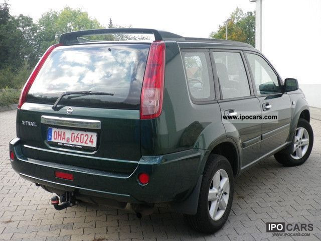 2004 nissan x trail 2 5 4x4 sport good general condition car photo and specs. Black Bedroom Furniture Sets. Home Design Ideas