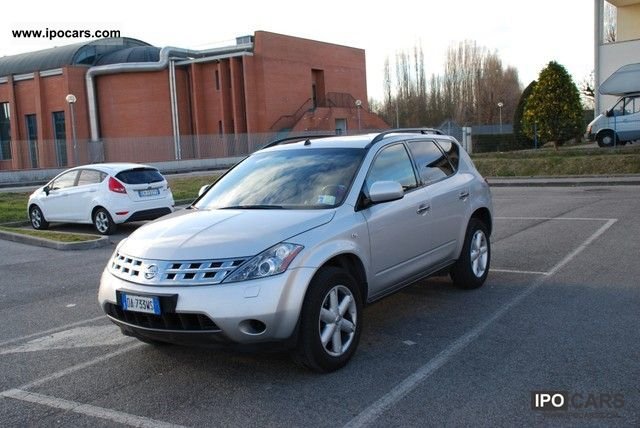 Nissan  Murano gpl 2006 2006 Liquefied Petroleum Gas Cars (LPG, GPL, propane) photo