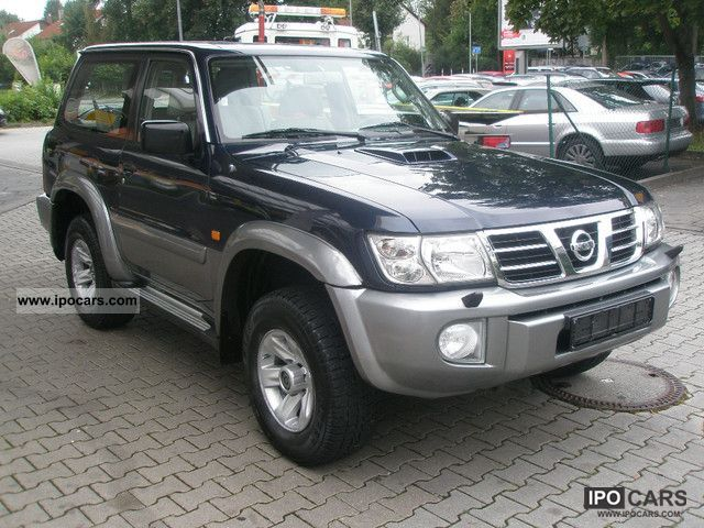 2003 nissan patrol gr 3.0 di elegance - car photo and specs
