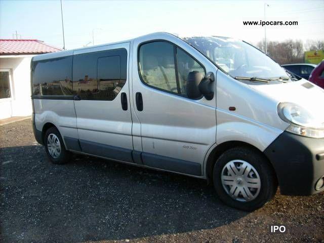 2005 Nissan  Primastar Bogata wersja-9 bedded Van / Minibus Used vehicle photo