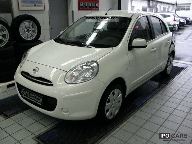 2012 Nissan Micra 1 2 Acenta Car Photo And Specs
