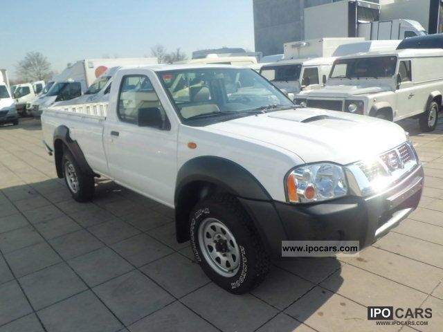 2006 Nissan Pick Up 52 478 Km Off Road Vehicle Pickup Truck