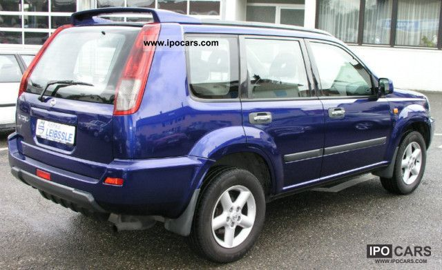 2002 Nissan X Trail 2 2 Dci Sport 4x4 Panoramic Roof Car