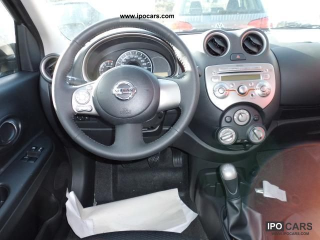 2012 Nissan Micra Acenta 2 1 80hp Park Guide Radio Cd Player Bluet Car Photo And Specs