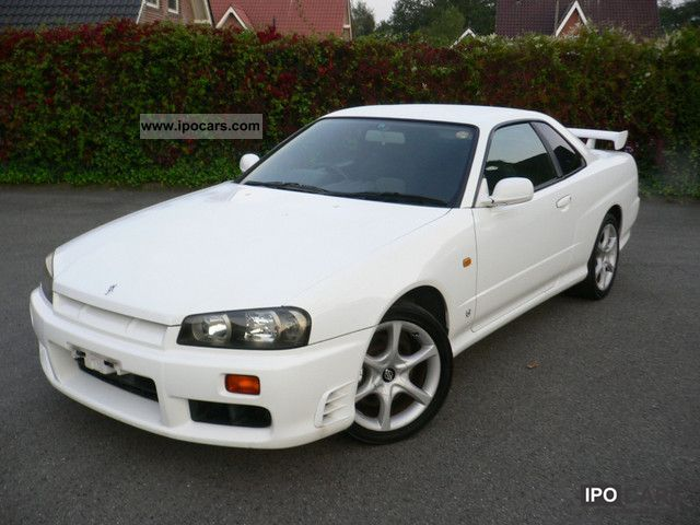 1998 Nissan Skyline R34 Gtt Turbo 52 000 Km Top State