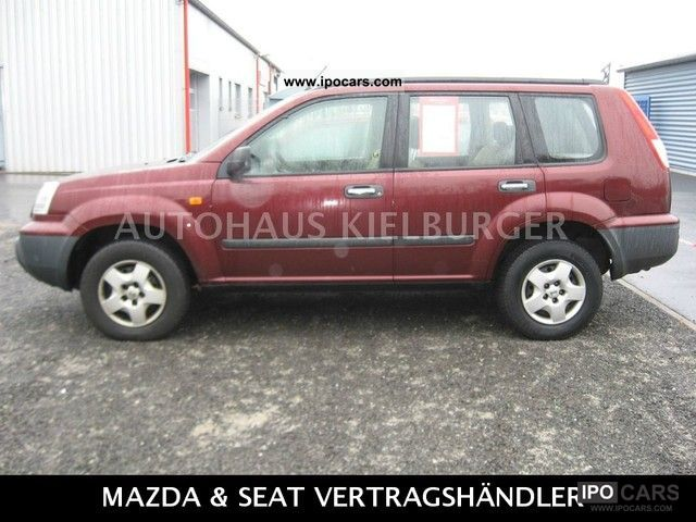 2002 nissan x trail 2 2 dci 4x4 comfort car photo and specs. Black Bedroom Furniture Sets. Home Design Ideas