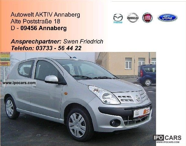 2010 Nissan  1.0L 68HP Pixo Acenta 5d Automatic Small Car Used vehicle photo