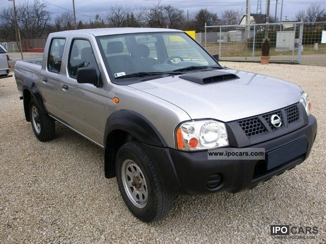 2008 Nissan  NP300 Pick Up Double Cab 4WD, air Off-road Vehicle/Pickup Truck Used vehicle photo