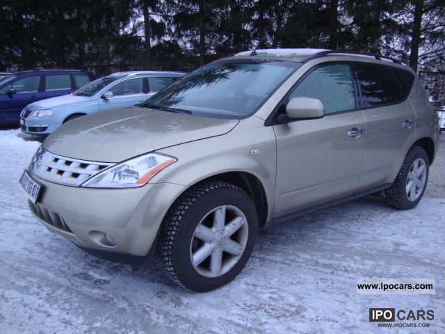 2006 nissan murano - car photo and specs