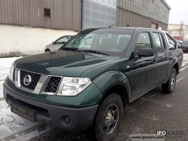 2007 Nissan  2.5 Business Navara 4WD net 10 200 Off-road Vehicle/Pickup Truck Used vehicle photo
