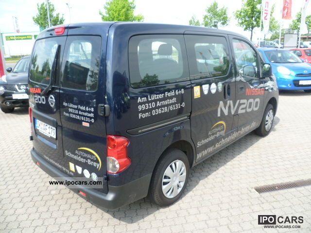 2010 nissan nv200 combi premium car photo and specs. Black Bedroom Furniture Sets. Home Design Ideas