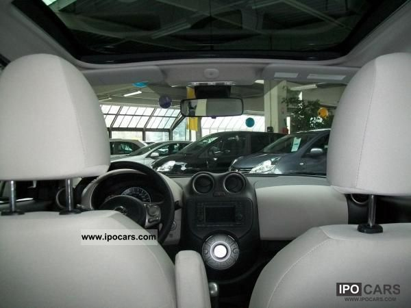 2012 nissan micra micra nouvelle portes 1 2l 5 80 ch car photo and specs. Black Bedroom Furniture Sets. Home Design Ideas