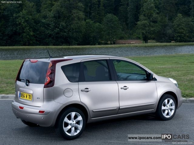 2011 nissan note 1 6 automatic i way model 2012 5 car photo and specs. Black Bedroom Furniture Sets. Home Design Ideas