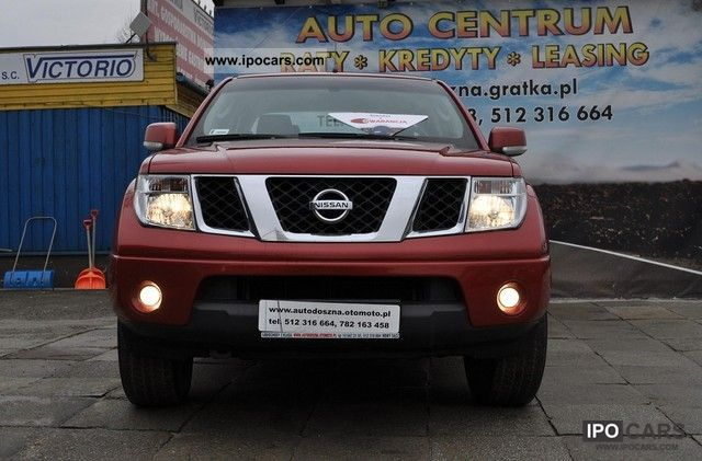 2008 Nissan Navara Fak Vat23 Salonowy R Black Car Photo And Specs