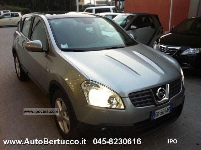 Nissan  Qashqai 2.0 Tekna 4WD 16V 2007 Liquefied Petroleum Gas Cars (LPG, GPL, propane) photo