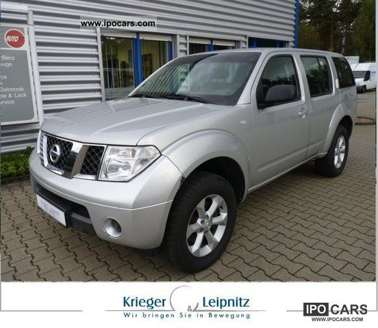 2009 Nissan  Pathfinder 2.5 dCi 4x4 XE + checkbook + air + + Limousine Used vehicle photo
