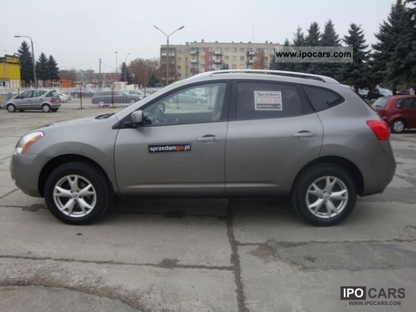 2008 nissan rogue 2 5 sl awd sprzedamgo car photo and specs. Black Bedroom Furniture Sets. Home Design Ideas