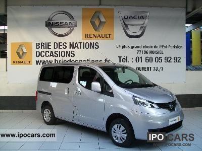 2012 Nissan  Evalia 1.6E 110 CH EURO5 Estate Car Used vehicle photo