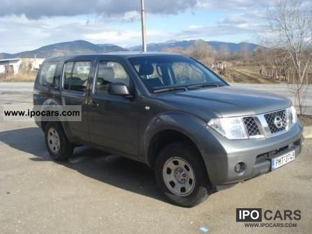 2009 Nissan  Pathfinder 2.5 dCi LE Off-road Vehicle/Pickup Truck Used vehicle photo