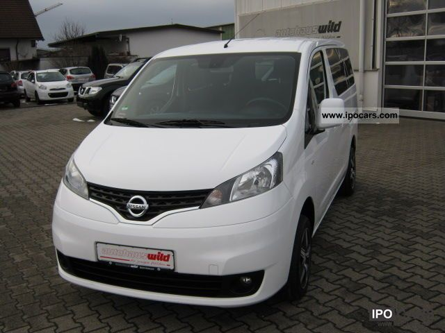 2010 Nissan  NV200 1.5 DCI Evalia REVERSING CAMERA Van / Minibus Used vehicle photo