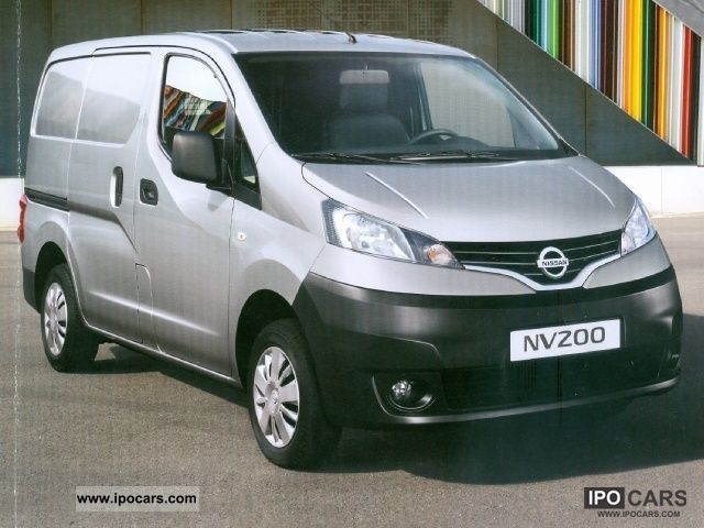 2011 Nissan  200 NV 200 VAN Allestimento Easy Other New vehicle photo