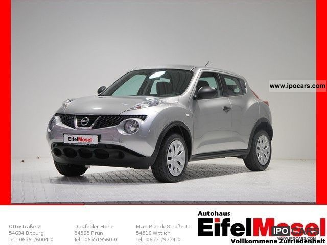 2011 nissan juke visia 4x2 6 1 car photo and specs. Black Bedroom Furniture Sets. Home Design Ideas