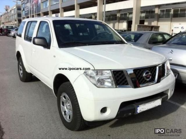 2007 nissan pathfinder 2 5 dci 4x4 171ch 7 places car photo and specs. Black Bedroom Furniture Sets. Home Design Ideas