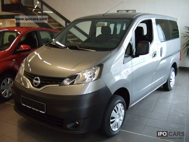 2011 nissan nv200 combi premium dci 90 euro5 modell2012 car photo and specs. Black Bedroom Furniture Sets. Home Design Ideas