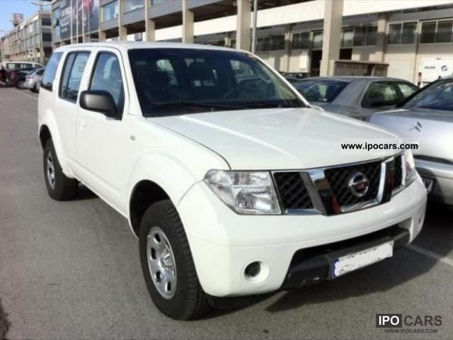 2007 nissan pathfinder 2 5 4x4 171cv 7 places car photo. Black Bedroom Furniture Sets. Home Design Ideas