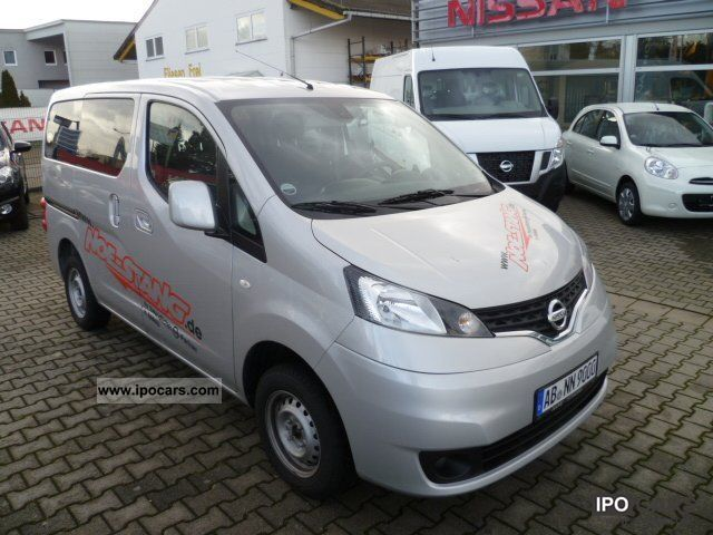 2011 nissan nv200 evalia 7 sitzer r ckfahrkamera bluetooth car photo and specs. Black Bedroom Furniture Sets. Home Design Ideas