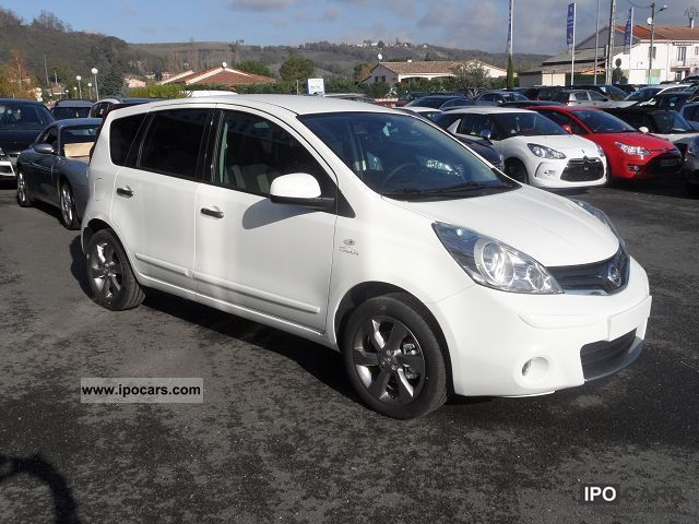 2011 nissan note 1 5 dci 90 connect edition car photo and specs. Black Bedroom Furniture Sets. Home Design Ideas