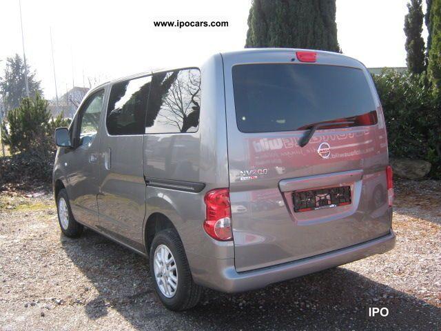 Nissan Nv Passenger >> 2011 Nissan NV 200 110 7 seater 16V Evalia - Car Photo and ...