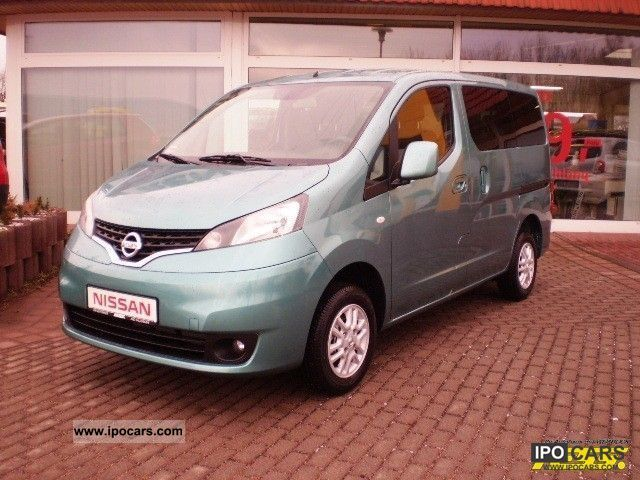 2012 nissan nv200 premium evalia car photo and specs. Black Bedroom Furniture Sets. Home Design Ideas