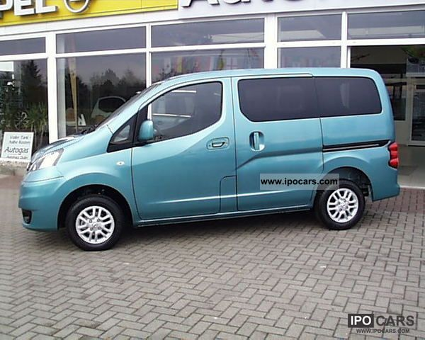 2012 Nissan Nv200 Evalia 7 Seater Connect System Car Photo And Specs