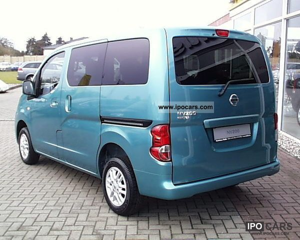 2012 Nissan Nv200 Evalia 7 Seater Connect System Car