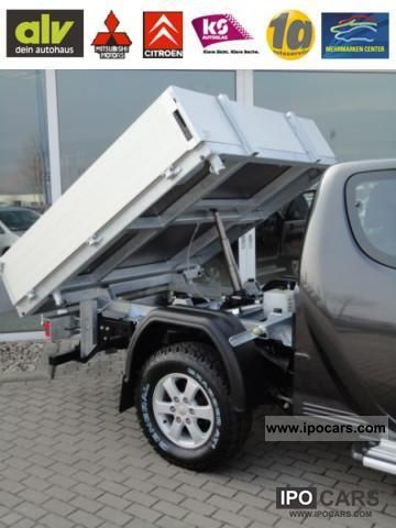 2011 Nissan Np300 Navara King Cab And Flatbed Tipper