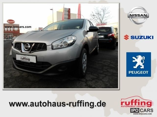 2012 Nissan  1.5 Dci Visia 4x2 Qashqai +2 B & B Estate Car Pre-Registration photo