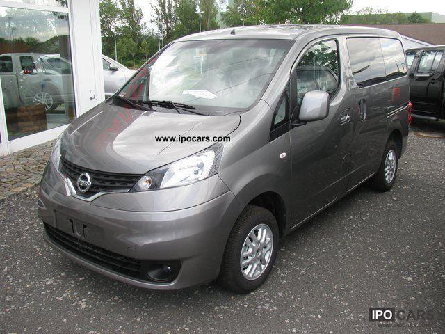 2011 Nissan  Evalia + Connect + 3.Sitzreihe Van / Minibus New vehicle photo