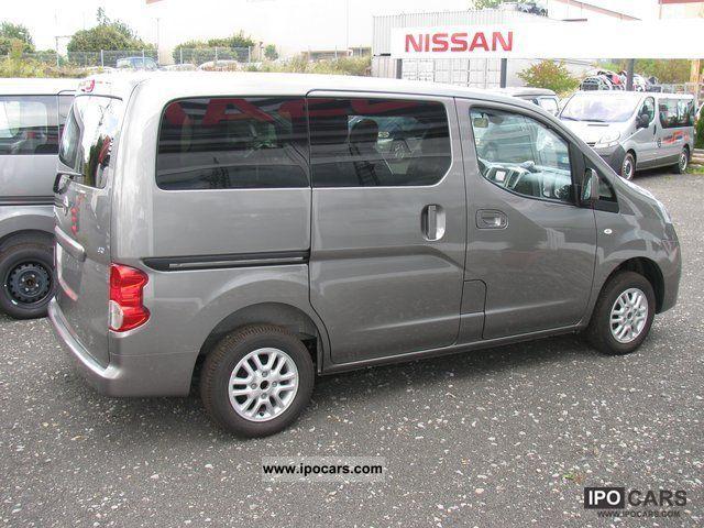 2011 Nissan Evalia Connect 3 Sitzreihe Car Photo And