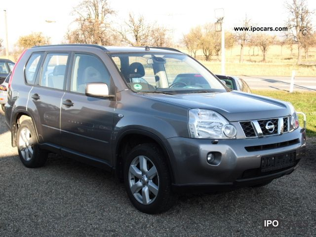 2009 nissan x trail 2 0 dci 4x4 automatic se dpf car photo and specs. Black Bedroom Furniture Sets. Home Design Ideas