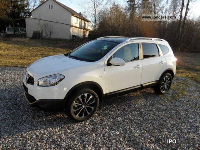 2012 nissan qashqai +2 2.0 4x4 i-way - car photo and specs